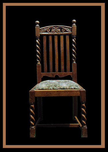 William & Mary Chair, Hander Woodworking