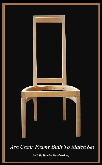 Ash Chair Hander Woodworking