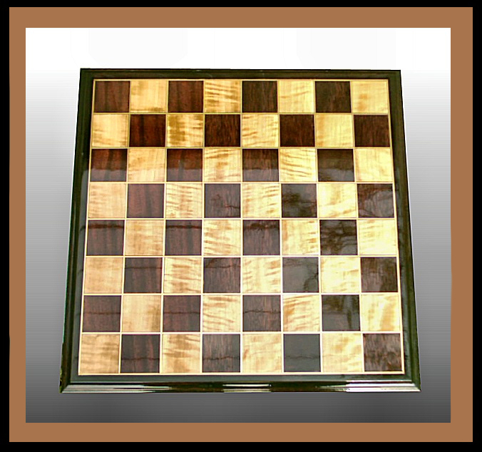 Chess Board Hander Woodworking