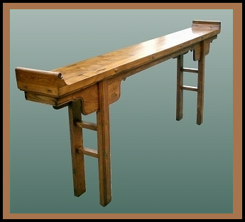 Chinese Altar Table Hander Woodworking