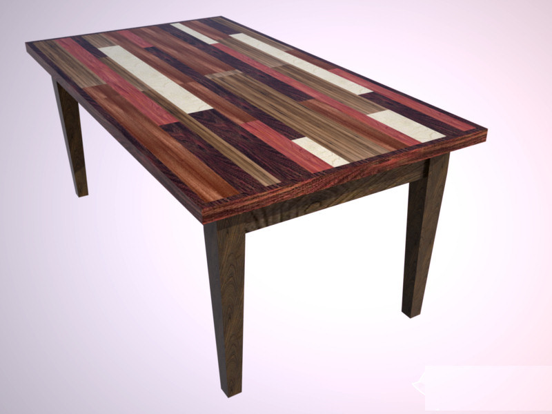Conceptual Rendering Of Table