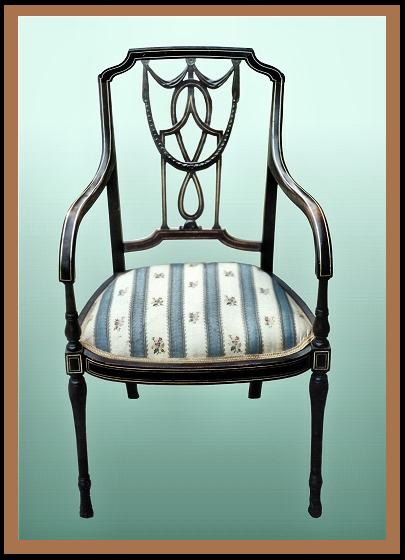 Sheraton Chair, Hander Woodworking