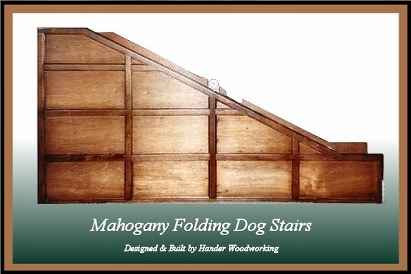 Open Dog Stairs, Hander Woodworking