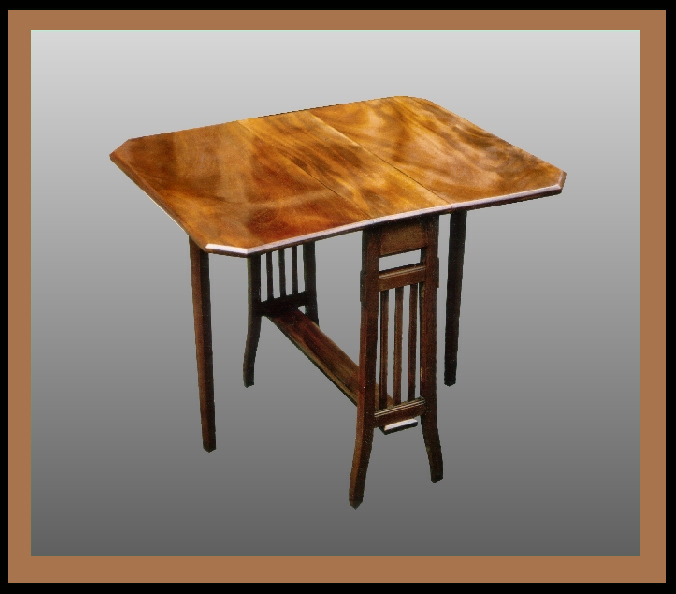 Sutherland Table, Hander Woodworking